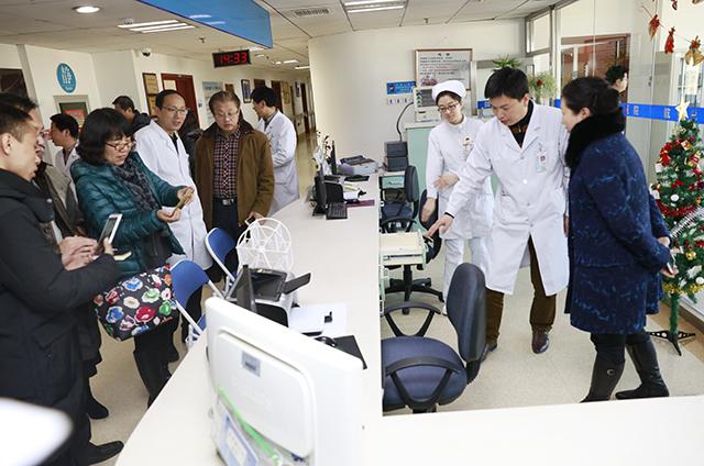 中医药大学附属医院张兰副院长一行来航空总医院参观交流